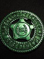 SUPERBOWL52 EAGLES41 PATRIOTS 33 -  Custom Good Luck Metal Typer Coin Token 2018