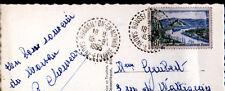 ROUSSILLON (71) LAC de LA CANCHE en 1955 / Oblitération postale perlée