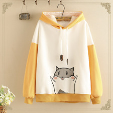 Kawaii Clothing Cute Ropa Hoodie Harajuku Sweatshirt Sudadera Cute cat Sweater