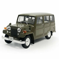 1:43 Vintage Mitsubishi JEEP J30 1961 Model Car Diecast Vehicle Collection Gift