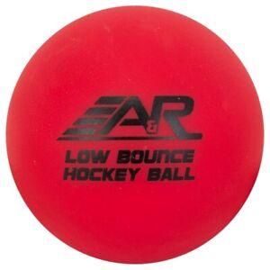 A & R Street Hockey Ball, Hard Orange Low Bounce Roller Hockey Ball