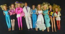 Assorted Lot of 9 Vintage 1966 & Other Year Style Barbie Ken Dolls Midge Friends
