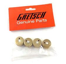 "(4) Genuine Gretsch Gold Jeweled Arrow 1/4"" Shaft Guitar Knobs 922-1025-000"
