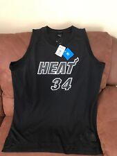 002ef994ef3 adidas Swingman Miami Heat Ray Allen Black NBA Jersey Men s 2xl