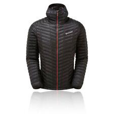 Montane Mens Icarus Lite Jacket Top - Black Sports Outdoors Full Zip Hooded Warm