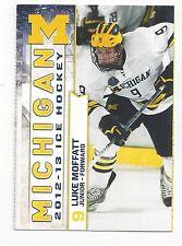 2012-13 Michigan Wolverines Luke Moffatt (Manchester Storm)