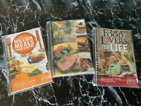 Lot Of 3 Food Lovers Fat Loss System Cookbooks AndMeal Planners Weight loss New!