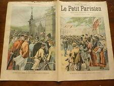 PETIT PARISIEN - 1902  n° 701 Londres BUCKINGHAM / garde républicaine TURIN