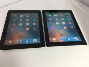 Apple iPad 3rd Gen 16GB+ iPad 2 16GB., Wi-Fi, 9.7in - Black #861