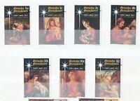 GRENADINES VON GRENADA 1977, Weihnachten: Gemälde, kpl. gestempelte Kab.-Satz