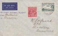 AFC140) Australia 1939 Brisbane to Gladstone Qantas first flight