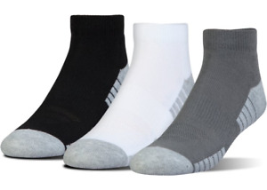 Under Armour U326 Men's UA HeatGear Tech Lo-Cut 3-Pack Athletic Socks 1303204