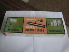 Linolite SPL Vintage Brass Painting Picture Lights NEW OLD STOCK BOXED