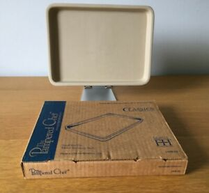 Pampered Chef Stoneware Small Bar Pan 1448 - 03 Size 16 x 22cm