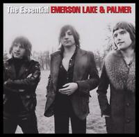 EMERSON LAKE & PALMER (2 CD) THE ESSENTIAL ~ GREATEST HITS / BEST OF ELP *NEW*