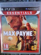 Max Payne 3 PS3 Nuevo Precintado Gran acción aventura shooter en castellano