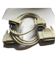 PSG90340 Pro Signal Lead , Null Modem , 9Way-25Way D Sockets