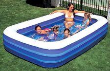 NEU Schwimmbecken FAMILY Pool Planschbecken 305cm x 183cm x 56cm 54009