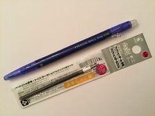 Pilot FriXion Ball Slim 0.38mm Erasable Rollerball Gel Pen(1+1 free refill) blue