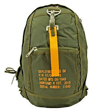 Military Tactical Parachute Knapsack Backpack Olive Green NWT