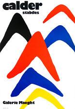 ALEXANDER CALDER ORIGINAL LITHOGRAPH +COA. Calder litógrafo invest gift RARE ART