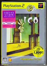 PS2 Ico (2004) NTSC J, Japanese Best of Series, Brand New & Sony Factory Sealed