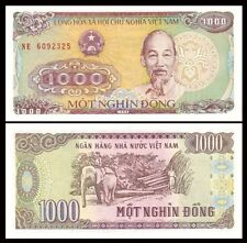 VIETNAM 1000 (1,000) Dong, 1988, P-106, Ho Chi Minh, UNC World Currency