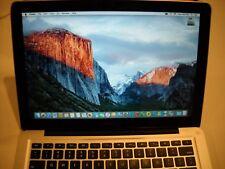 "Apple MacBook Pro A1278 13"" Mid-2012 i5 2.5ghz 4GB DDR3 500GB Free Shipppng"
