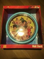 DISNEY HIGH SCHOOL MUSICAL Glitter Wall Clock. NEW.