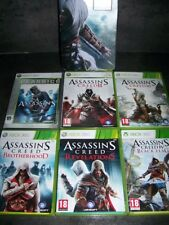 LOT ASSASSIN'S CREED + STEELBOOK XBOX 360