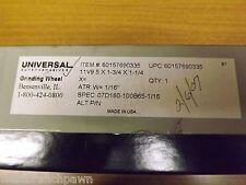 Universal Super Abrasives Grinding Wheel 5 x 1-3/4 x 1-1/4