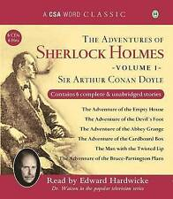 Adventures Of Sherlock Holmes V1 The (Csa Word Classic) (Audio CD. 9781906147327