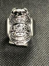 Stainless Steel Police Ring sizes 8-16