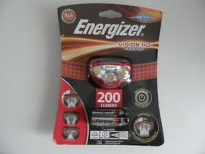 Lampe frontale,200 Lumens ENERGIZER VISION HD