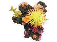 Colorido Lechón Montado Arrecife de Coral & anémona Pecera Cueva Ornamento de acuario