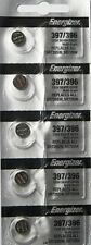 ENERGIZER 397/396 SR726SW SR726W (5 piece) WATCH BATTERY NEW Authorize Seller