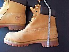 Timberland Men's Boot 6 Inch Classic Premium 10061 Wheat Nubuck Worn Once