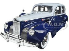 1941 PACKARD SUPER EIGHT ONE-EIGHTY SILVER FRENCH AND BLUE 1/18 GREENLIGHT 12970