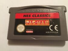 NINTENDO GAME BOY ADVANCE GBA SP GAME CARTRIDGE NES CLASSICS PAC-MAN by NAMCO