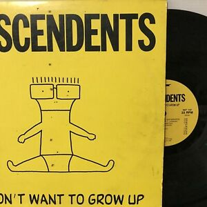 Descendents – I Don't Want To Grow Up LP 1990 SST Records – SST 143 VG+/VG+