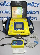 PHILIPS AGILENT HEARTSTREAM XLT DEFIB w/OPT: ABA, CO2, C10, C01, LEADS & CHARGER