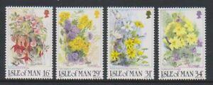 Isle Von Mann - 1987, Wildblumen Set - MNH - Sg 354/7