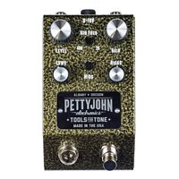 PettyJohn GOLD Foundry Overdrive Distortion Guitar Effects Pedal w/ True Bypass