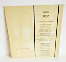 Maurice Andre Six Trumpet Concerto The Musical Heritage Society MHS 755