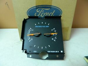 New OEM 1988 1989 Lincoln Water Temperature Temp Fuel Gas Gauge E9VY10883A