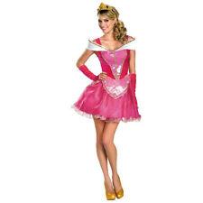 Deluxe Aurora Costume Dress Adult Disney Princess Sleeping Beauty Halloween