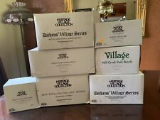 Department 56 Dickens' Village Series lot - Heritage Village Collection