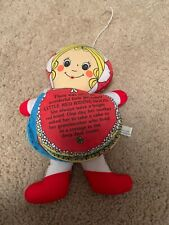 Little Red Riding Hood Cloth Story Doll 1978 Vintage