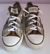 Vintage Unisexe Chuck Taylor Converse Camouflage Toile Lo Baskets/Chaussure Taille 4