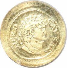 S9478 Romaine Or Nero Auguste César Caesar Or Gold PF BE -> Faire Offre